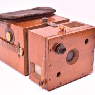 HÜTTIG 1895 Detektiv Magasin Kamera