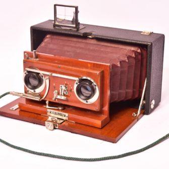 Chambre Photographique stéréoscopique New-Folding