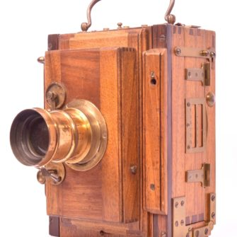 Chambre photographique de voyage 9×12
