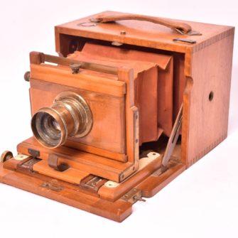 Petite chambre photographique coffret 9×12