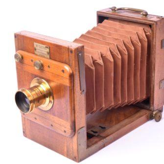 Chambre photographique Sauret format 9×12 cm