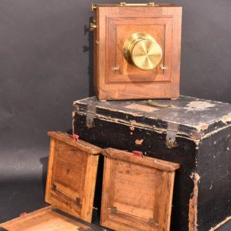 Chambre photographique collodion