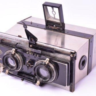 Jumelle photographique Stéréospido Gaumont
