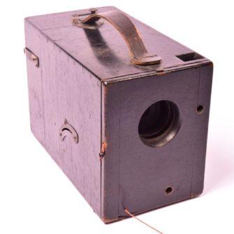 Appareil photographique Détective en bois noirci