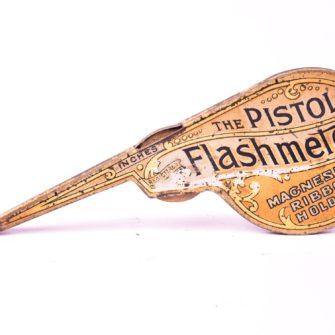 The Pistol Flashmeter Lampe à ruban de magnésium