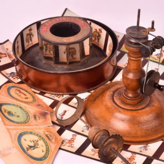 Émile Reynaud Praxinoscope à manivelle