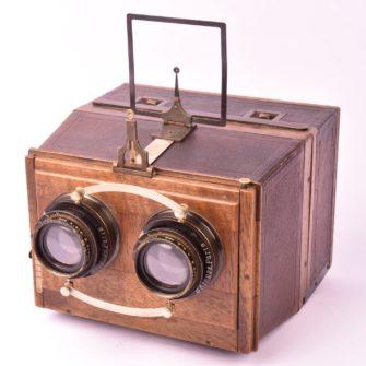 Appareil Photographique SIGRISTE stéréoscopique 6×13 – S.O.L.- 1903