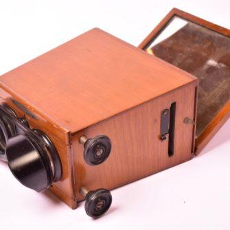Unis-France Stéréoscope à miroir 6 x13 cm