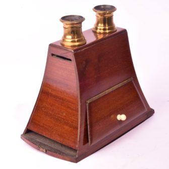 Stéréoscope de type Brewster Duboscq