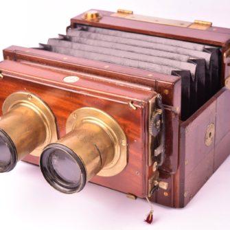 WATSON & SONS Chambre photographique stéréoscopique