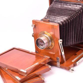 ERNEMANN « Globus H » Chambre photographique 13×18