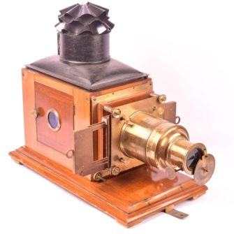 Lanterne de projection anglaise type Newton