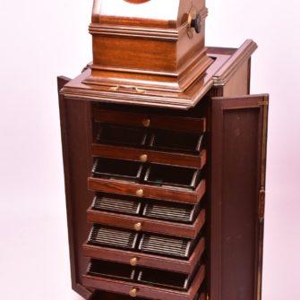 Meuble Colonne PLANOX « Rotatif » bi-format avec stéréoscope