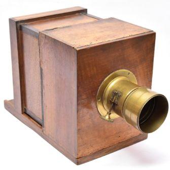 Chambre photographique collodion à tiroir 13×18