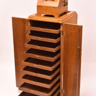 Meuble Colonne PLANOX bi-format avec stéréoscope « Universel »