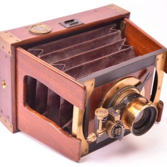 Chambre photographique à joues 9×12 Mackenstein