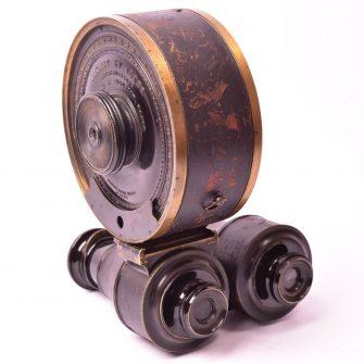 Jumelle photographique de Nicour fabriquée par Geymet & Alker