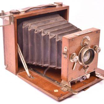 """Dr. Lüttke & Arndt """"Linos"""" Folding Plate Camera"""