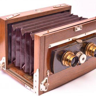 Chambre Photographique stéréoscopique Steinheil
