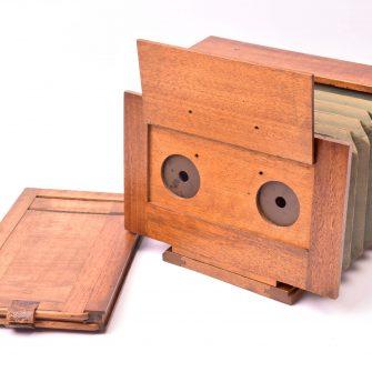 Chambre photographique stéréo 9×18 pour débutant