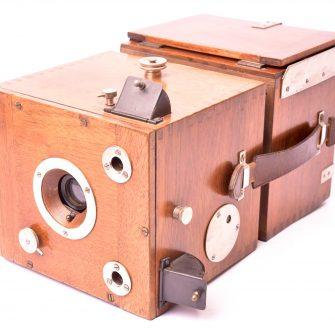 Ernemann appareil photographique Edison détective 9×12