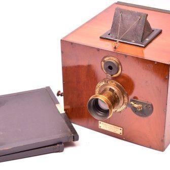 Français appareil photographique Kinégraphe 13×18