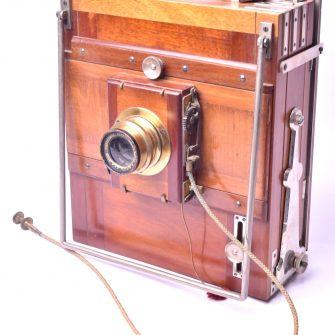 Chambre photographique carrée 13×18