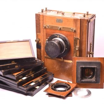 Chambre photographique Lorillon 18×24
