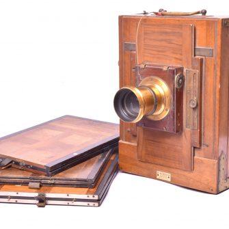 Mackenstein Chambre photographique de voyage
