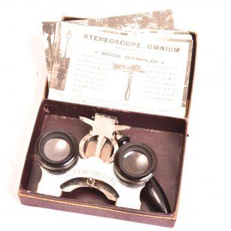 Stéréoscope publicitaire Omnium « Lumière Gretzine »,
