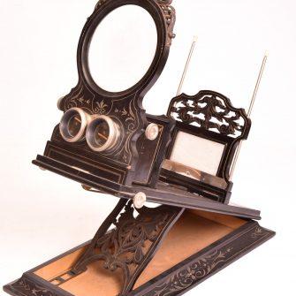 Très grand Stéréoscope Graphoscope Napoléon III
