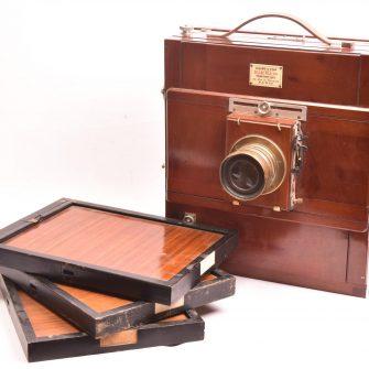 Chambre photographique Gilles-Fils 24×30 cm