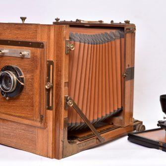 Chambre photographique Gilles-Faller 24×30 cm