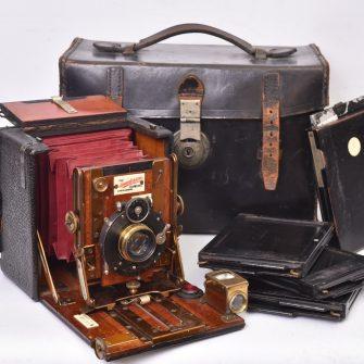 Chambre photographique Sanderson Regular Model