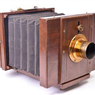 Chambre Photographique monorail collodion sec