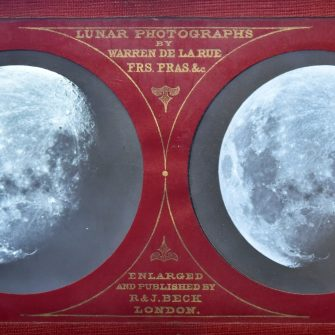 Warren de la Rue « Lunar Photographs »