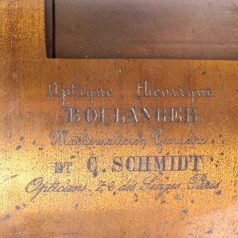 Très grande « Optique Théorique » Boulanger & Schmidt.