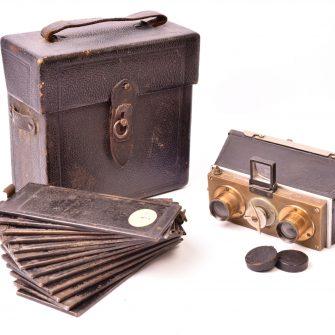Jumelle stéréoscopique 45×107 modèle inconnu