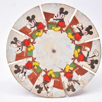 Disques de Phénakistiscope du Journal de Mickey
