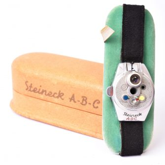 Appareil espion montre-bracelet Steineck ABC