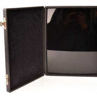 """Miroir noir dit """"Miroir de Lorrain"""""""