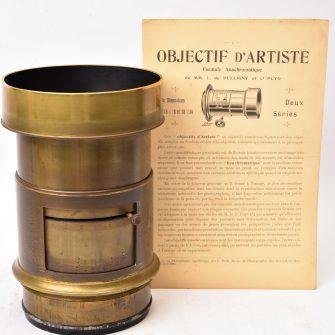 Darlot Objectif d'Artiste Anachromatique C. Puyo