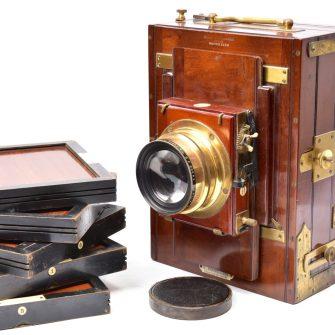 Chambre photographique de voyage Mackenstein