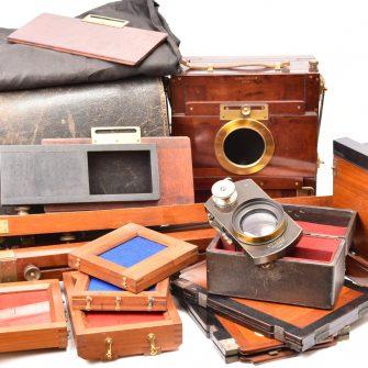 Chambre photographique 13×18 cm Mackenstein