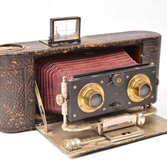 Duplouich Appareil photographique stéréoscopique