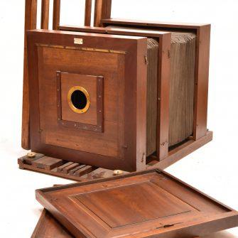 Chambre photographique 30×40 cm de Jourde