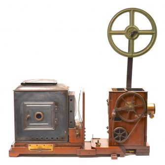 A Matagraph 35mm movie projector