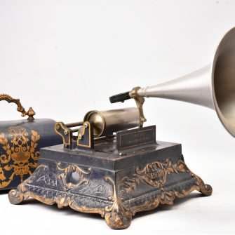 Phonographe à cylindre Girard et Cie / Pathé- Le Ménestrel