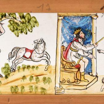 Plaques de lanterne magique fin XVIIIème