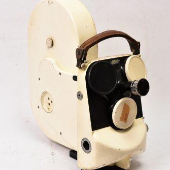 Caméra Cameflex Eclair de couleur blanche